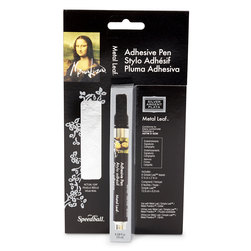 Mona Lisa™ Adhesive Pen and Silver Simple Leaf Kit