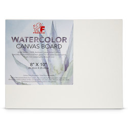 Fredrix® Watercolor Archival Canvas Panel - 8 in. x 10 in.