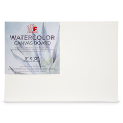 Fredrix® Watercolor Archival Canvas Panel - 9 in. x 12 in.