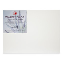 Fredrix® Watercolor Archival Canvas Panel - 11 in. x 14 in.