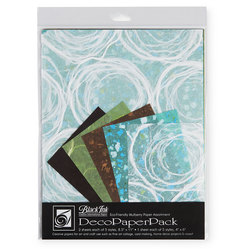 Black Ink™ DecoPaperPack - Whimzy