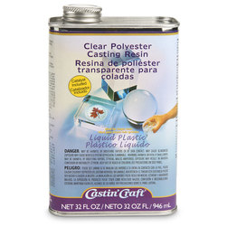 Clear Polyester Casting Resin - 32-oz.