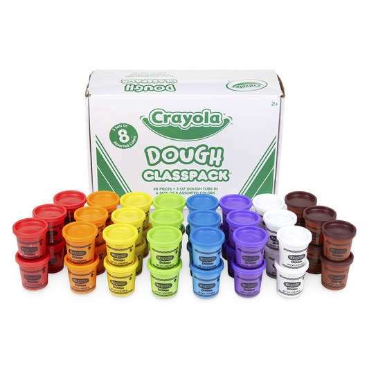 Crayola® Dough Classpacks® - 48 Dough Tubs - Each 3-oz.