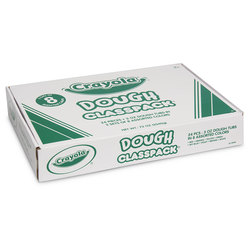 Crayola® Dough Classpacks® - 24 Dough Tubs - Each 3-oz.