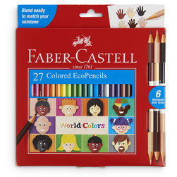 Faber-Castell® World Colors Pencils - Set of 27