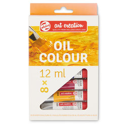 Talens Art Creation Oil Paint - Set of 8