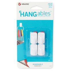 VELCRO® HANGables™ Removable Wall Hooks - Micro - Set of 4