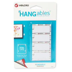 VELCRO® HANGables™ Removable Wall Fasteners - 1-3/4 in. x 3/4 in. Strips