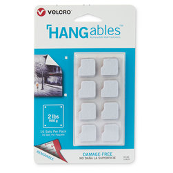 VELCRO® HANGables™ Removable Wall Fasteners - 3/4 in. Squares
