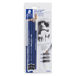 STAEDTLER® Mars® Lumograph® aquarell Watercolor Pencils - Set of 4