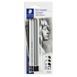 STAEDTLER® Mars® Lumograph® Charcoal Pencil Set