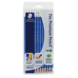 STAEDTLER® norica® Pencils - Set of 12 - HB