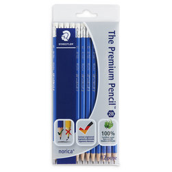 STAEDTLER® norica® Pencils - Set of 12 - 2B
