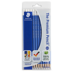 STAEDTLER® norica® Pencils - Set of 12 - 2H