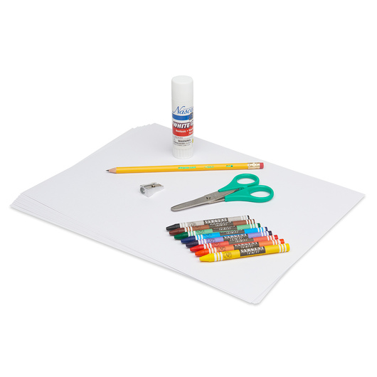 Basic Elementary Art Supplies Kit - Single Student