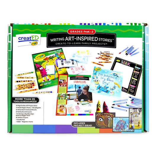 creat®ED Writing Art-Inspired Stories Family Engagement Kit: Tell Me a Story