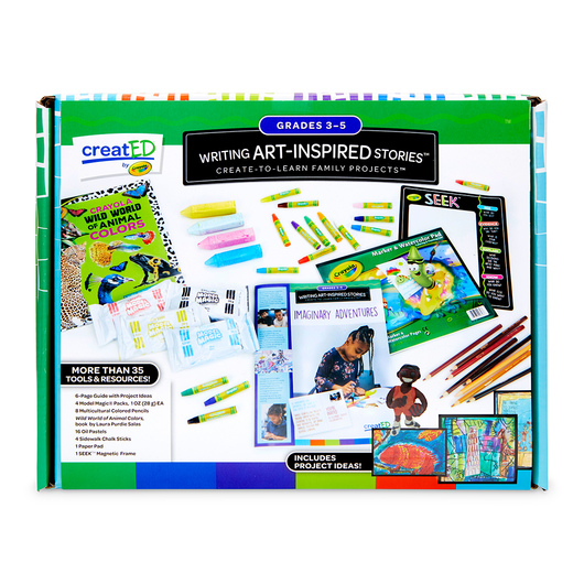 creat®ED Writing Art-Inspired Stories Family Engagement Kit: Imaginary Adventures