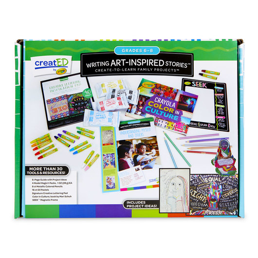 creatED® Writing Art-Inspired Stories Family Engagement Kit: Understanding Self and Others