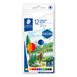 Staedtler® Hexagon Colored Pencils, Set of 12