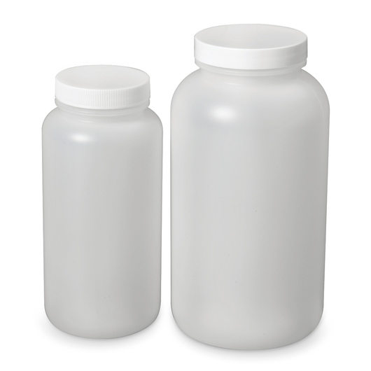 Wide-Mouth Bottles - 16.9 oz. (500 ml) - Pkg. of 12