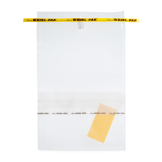 Whirl-Pak® Speci-Sponge® Environmental Surface Sampling Bags - 55 oz. (1,627 ml) - Box of 100