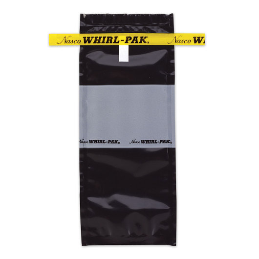 Whirl-Pak® Light Sensitive/Black Bags - 4 oz. (118 ml) - Box of 500