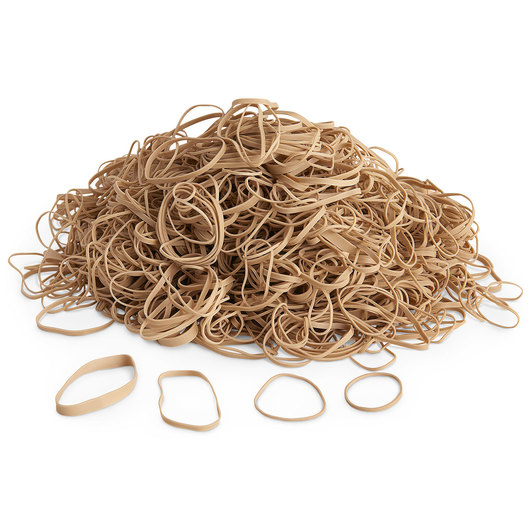 Advantage® Natural Latex Rubber Bands - 1-lb. Box