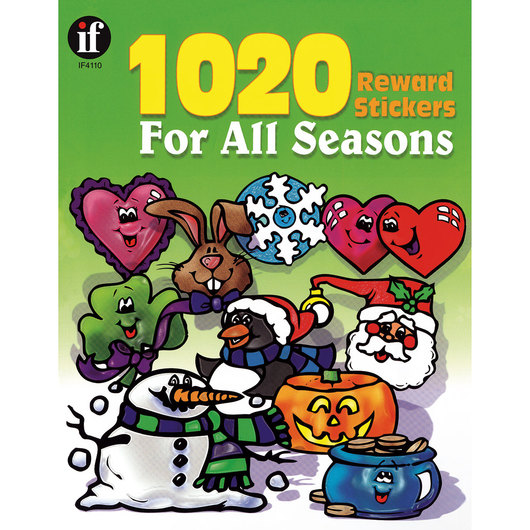 1020 Reward Stickers for All Seasons
