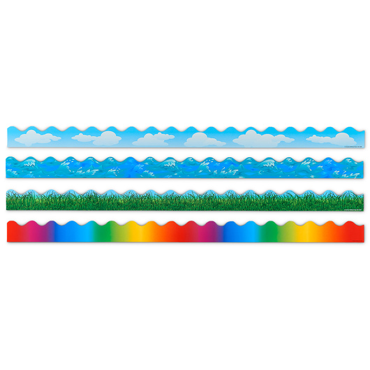 Scalloped Border Sets - Variety Set 1