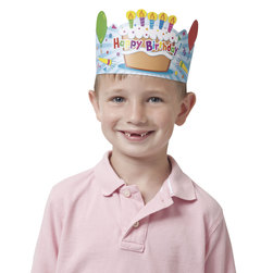 Birthday Crowns - Set of 30