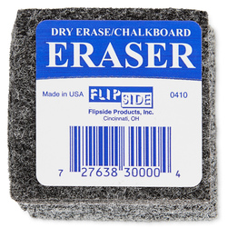 Student Erasers (Dry-Erase/Chalk) - Pack of 30