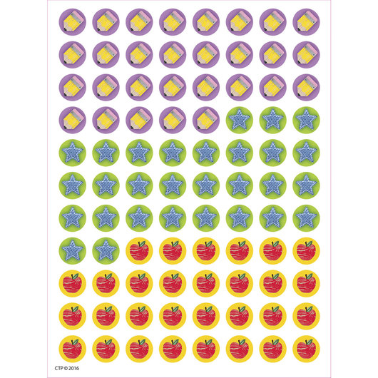 Upcycle Style Hot Spots Stickers - Pkg. of 880