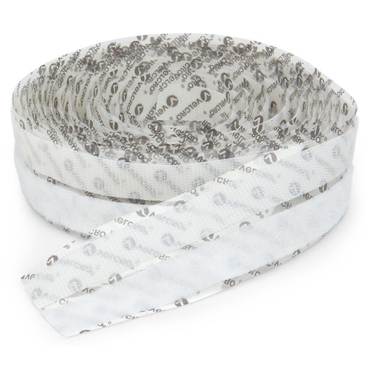 VELCRO® Sticky Back™ Tape - 15-ft. Roll - White