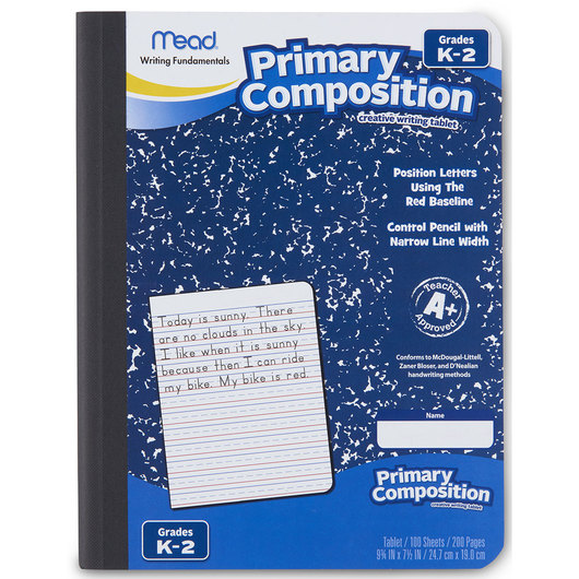 Mead® Primary Composition Book