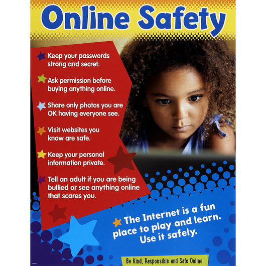 Online Safety Learning Chart - Grades K-5