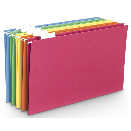 Colored Hanging Folders - Legal Size