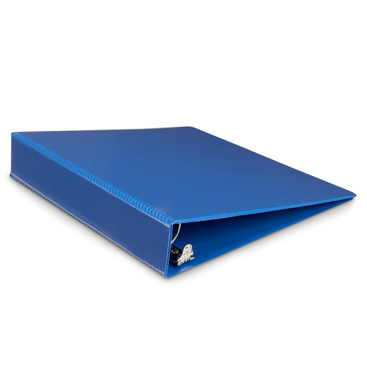 Heavy-Duty View Binder - 1-1/2 in. Round Ring - Navy