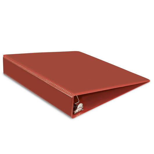 Heavy-Duty View Binder - 1-1/2 in. D Ring - Red