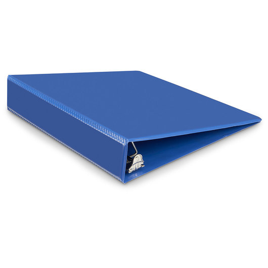 Heavy-Duty View Binder - 1-1/2 in. D Ring - Navy