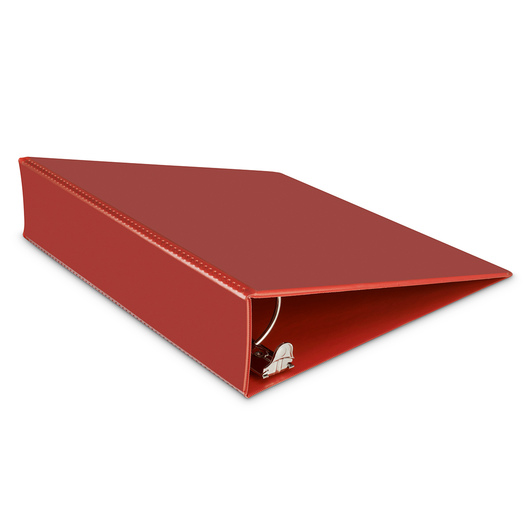 Heavy-Duty View Binder - 2 in. Round Ring - Red