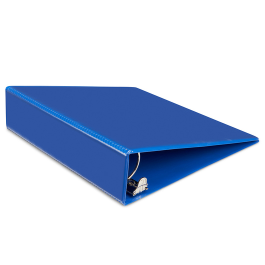 Heavy-Duty View Binder - 2 in. Round Ring - Navy