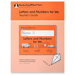 Handwriting Without Tears® - Letters and Numbers for Me Teacher's Guide