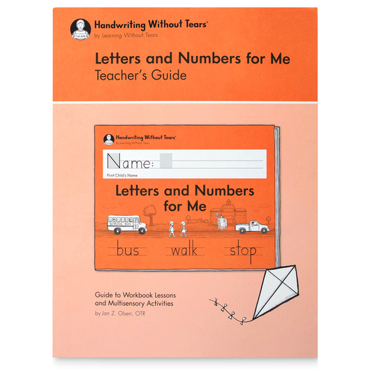 Handwriting Without Tears® - Letters and Numbers for Me Teachers Guide