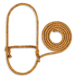 Heavy-Duty Sisal Rope Halter