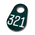 Nasco Nylon Flex Tags - Green Tags with White Numbers 201-999