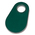 Nasco Nylon Flex Tags - Blank Green Nylon Flex Tags