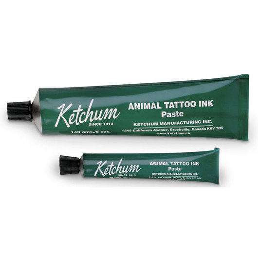 Ketchum Tattoo Ink Paste - Green, 1-oz. Tube