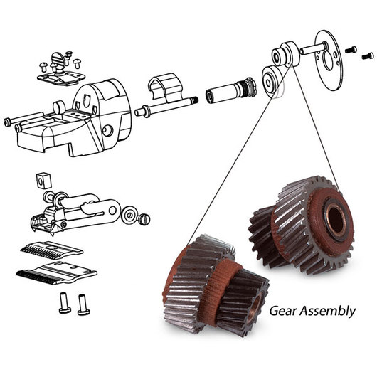 Oster® ClipMaster®, ShearMaster®, and ShowMaster® Intermediate Gear Assembly