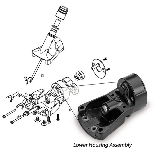 Oster® Showmaster™ and ShearMaster® 1/8 Lower Housing Assembly