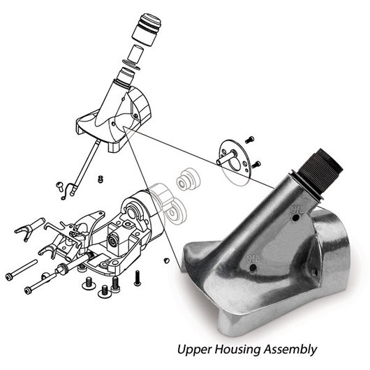 Oster® Showmaster™ and ShearMaster® 1/8 in. Upper Housing Assembly